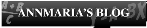 Dr. AnnMaria De Mars Blog