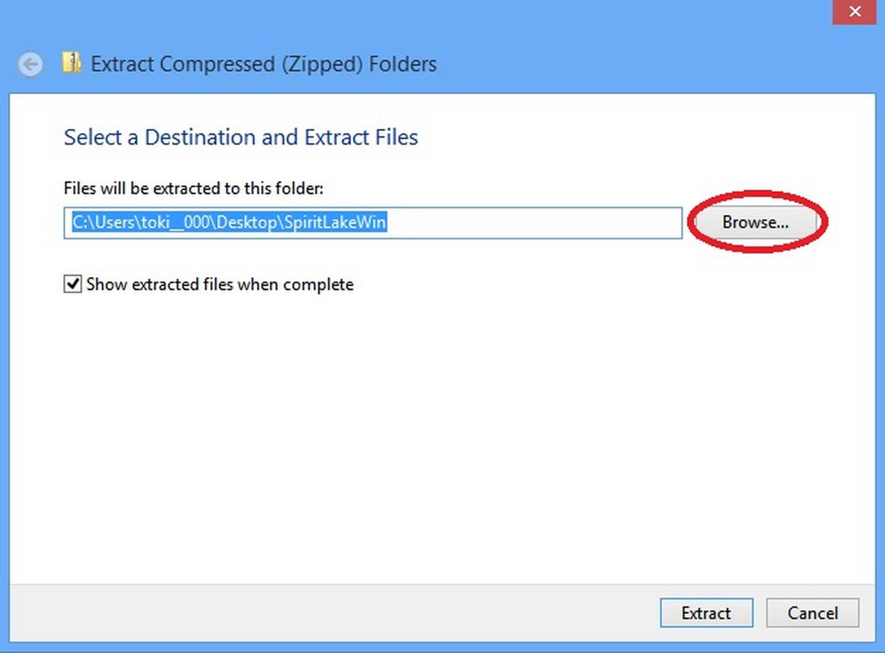 Windows 8 Installation - Spirit Lake