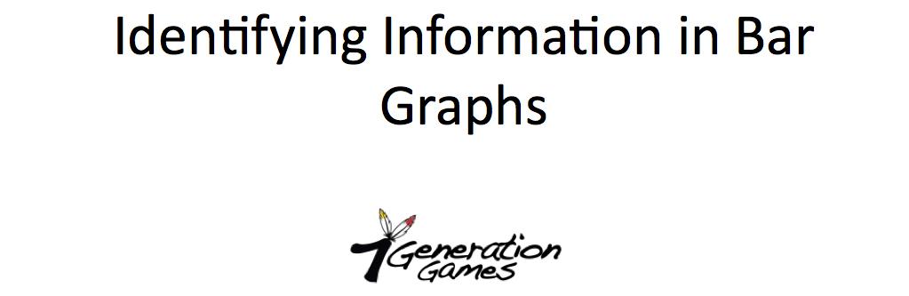 Identifying Information in Bar Graphs