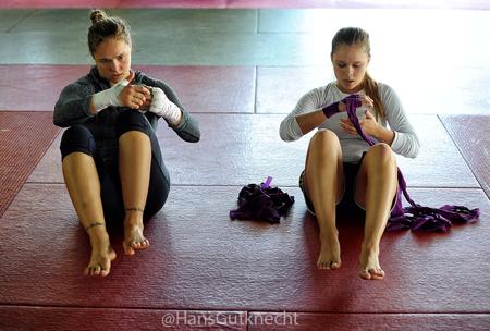 Ronda and Julia