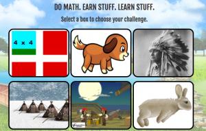 making camp math page