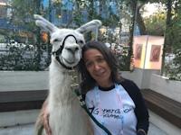 Me and a llama