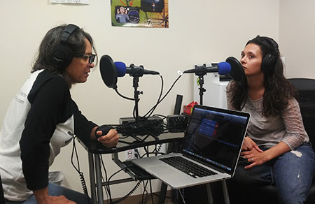 Maria and AnnMaria recording