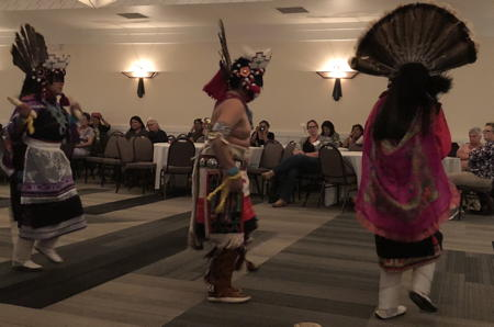 Native American dancers at EPICS conference