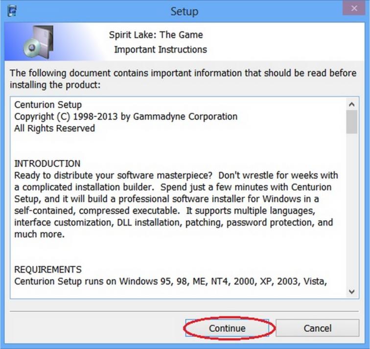 Windows 7 Installation - Spirit Lake