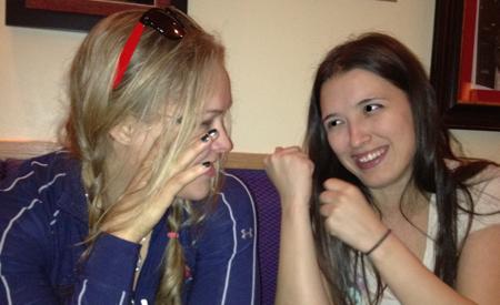 Jenn and Ronda