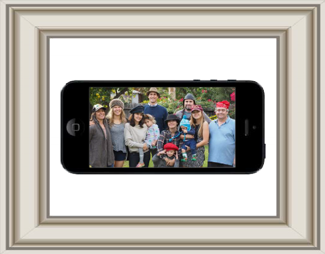 Rousey - De Mars - Burns Ortiz Family photo