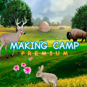 Making Camp Premium - game teaching math, English and Native American history