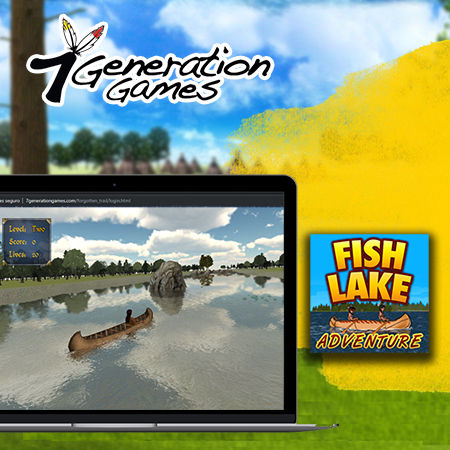 Fish Lake game on Windows computer