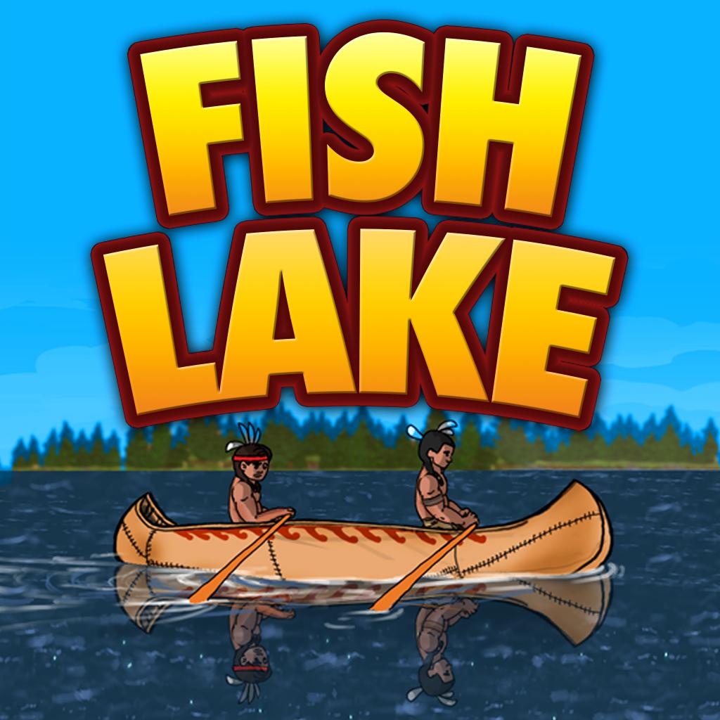 Canoeing in Fish Lake